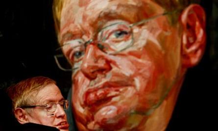 Portrait of Stephen Hawking by Tai-Shan Schierenberg Stephen Hawking by Tai-Shan Schierenberg