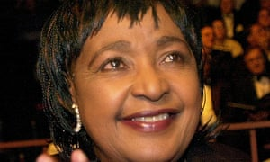 Nelson Mandela's ex-wife Winnie denies giving critical
