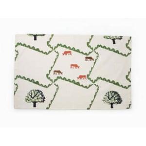 Christmas art: Christmas gift guides art: Tea towel