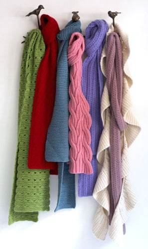 Crafts: Christmas gift guide crafts: scarves