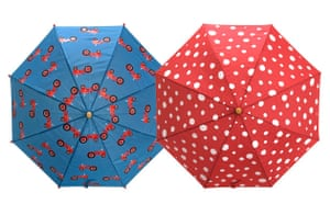 Gifts for babies: Children's umbrellas from ClownFishKids