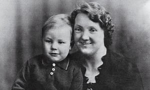 Patrick Stewart and his mother