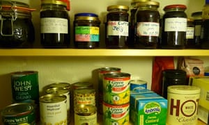 Jill Insley's pantry