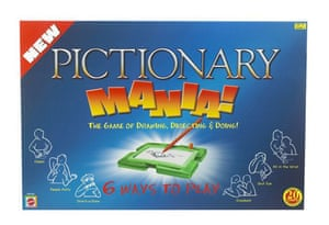 10 best board games: Pictionary.