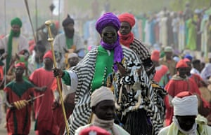 Eid al-Adha: Traditional palace guards of Emir of Kano