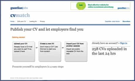 How To Market Yourself With Your Cv Guardian Careers The Guardian