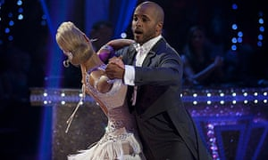 Strictly Come Dancing favourite Ricky Whittle and his dance partner Natalie Lowe
