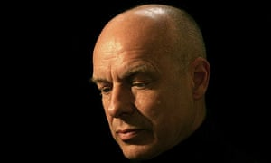 Former Roxy Music band member Brian Eno