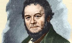 Portrait of Stendhal by Olof Johan Sodermarck