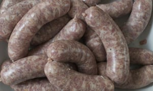 Tim Hayward's homemade sausages