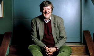 Stephen Fry at The Groucho Club