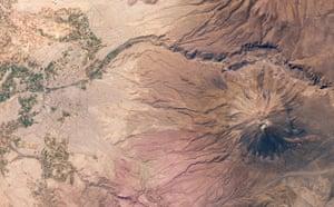 Satellite Eye on Earth: Arequipa, Peru and  El Misti Volcano