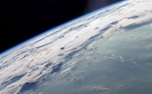 Satellite Eye on Earth: thunderstorms and numerous circular cloud patterns over Amazon