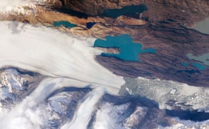 Satellite Eye on Earth: Upsala Glacier : The Southern Patagonian Icefield of Argentina and Chile