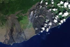 Satellite Eye on Earth: Hawaii's Kilauea Volcano