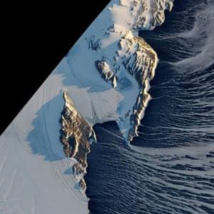 Satellite Eye on Earth: Antarctica's Terra Nova Bay and Nansen Ice sheet