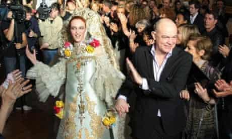 Christian Lacroix Haute Couture collection finale 2009