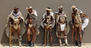 Eyewitness: Delegates in traditional Ndebele dress at the Institute of African Royalty