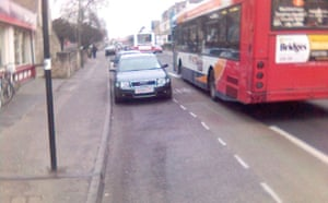 Worst Cycle Lane: Cycle Squeezer