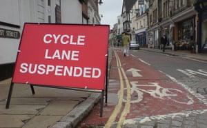 Worst Cycle Lane: Suspended Take 2