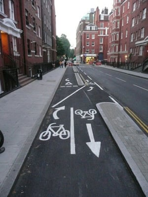 Worst Cycle Lane: Great Work Council Guy