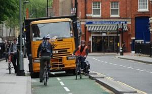 Worst Cycle Lane: Nice parking