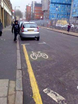 Worst Cycle Lane: wtfcyclelane