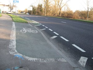 Worst Cycle Lane: Fancy a short pavement stretch