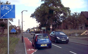 Worst Cycle Lane: Menstrie Cycle East