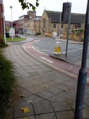Worst Cycle Lane: Dickie Dooda