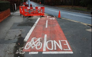Worst Cycle Lane: The smallest cycle path in Leeds-so far!