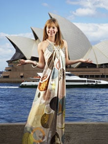 Darcey Bussell outside the Sydney Opera House