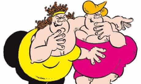 Viz Comic Fat Slags