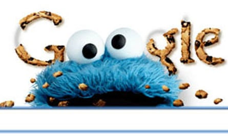 Cookie Monster Google doodle