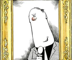 Viz's Roger Mellie - the man on the telly
