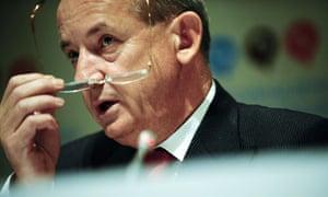 Yvo de Boer at  UN climate talks in Barcelona