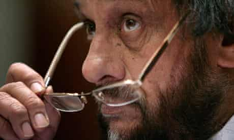 Rajendra Pachauri, chairman of the United Nation's Intergovernmental Panel on Climate Change