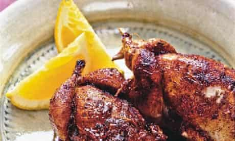 Guinea fowl with orange and Szechuan pepper