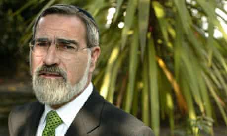 Chief rabbi Jonathan Sacks