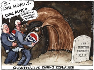 06.11.09: Steve Bell on the Bank of England's extension of quantitative easing