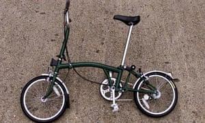brompton folding bicycle