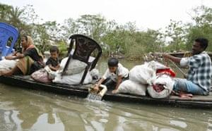 Cyclone aila : Gainbari, Satkhira, Bangladesh