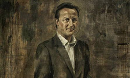 A new portrait of David Cameron by Jonathan Yeo.