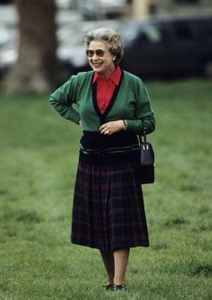 Queen Elizabeth II: 1991: Queen Elizabeth II at Windsor Horse Show