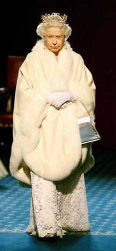 Queen Elizabeth II: 2008: Queen Elizabeth II arrives for the State Opening of Parliament