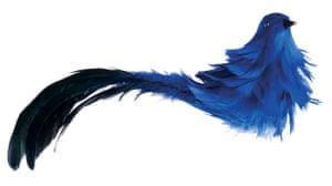 Christmas decorations: Habitat bird