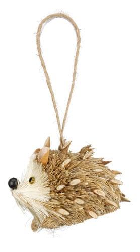 Christmas decorations: John Lewis hedgehog
