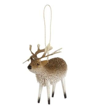 Christmas decorations: Liberty reindeer