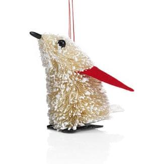Christmas decorations: Marks & Spencer penguin