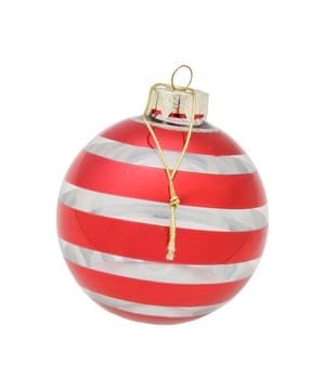 Christmas decorations: Liberty bauble